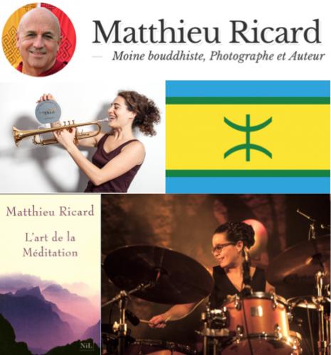 Meditation, Matthieu Ricard, Anne Pacéo, Airelle Besson