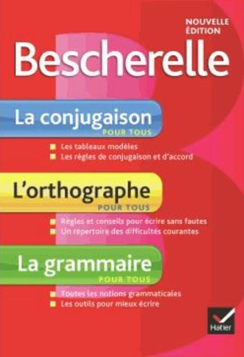 Bescherelle, vocabulaire, conjugaison, orthographe